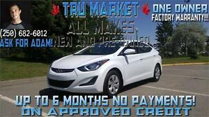 2015 Elantra, ONLY 10K KM!!! {One Owner} Factory Warranty!