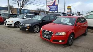 2009 AUDI A3 2.0T HATCHBACK  AUTOMATIC LOADED LEATHER CERTIFIED