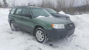 RARE 2008 Subaru Forester X Anniversary Edition !winter tires