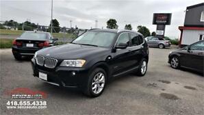 2013 BMW X3 Premium/GPS/Cuir/Toit/Xenon/jamais Accidenté