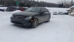 2014 MERCEDES C300 , AWD , 3.5 LIT , TOIT , MAGS , FULL