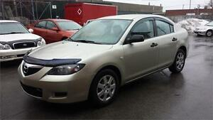 2007 MAZDA3 AUTOMATIQUE, A/C ** 3250$ ** CELL: 514-299-4706