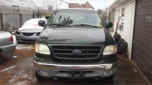 2002 FORD F150 4X4  AUTOMATIC GOOD CONDITION