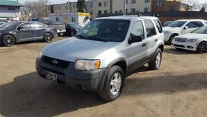 2004 Ford Escape XLT Duratec- AWD - Only 159000 km