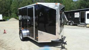 2018 NEW 6X10 V-NOSE CARGO TRAILER W/ 3500LBS AXLE