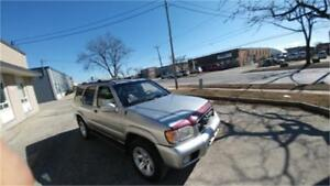 2003 Nissan Pathfinder LE LEATHER VERY LOW 107000 KM RUNS GOOD