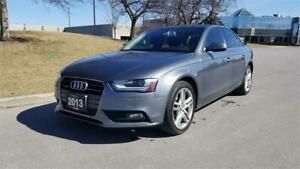 2013 Audi A4 Premium Plus | Navigation | 1 Owner | Push To Start