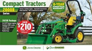 2025R COMPACT UTILITY TRACTORS LOADER MOWER DECK PACKAGE
