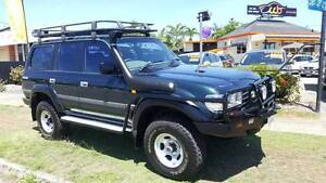 80 Series Automatic 1997 Toyota LandCruiser Wagon Westcourt Cairns City Preview
