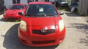 2006 TOYOTA YARIS MANUAL  HATCHBACK SAFETY WARRANTY