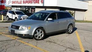 2004 AUDI A4 WAGON 3.0 QUATTRO AWD SAFETY ETESTED
