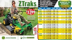 ZTRAKS Z335E ZERO TURN LAWN MOWER