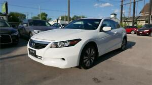 2012 Honda Accord Cpe EX-L w/Navi//Clean title//1 Yr Warranty
