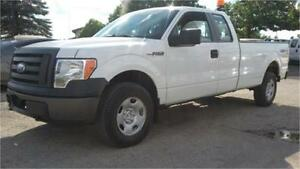 2009 Ford F150 XL 4x4, 4 Doors and 8 Foot Long Box! Tow Package!