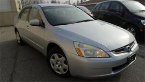 2005 Honda Accord Sdn LX-G WITH SAFETY CERTIFICATE