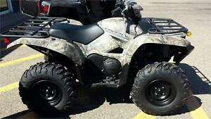 Black Friday Sale:  2017 Yamaha Grizzly 700 EPS Camo