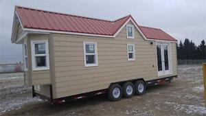 2017  8' x 28' Tiny Home Double A Trailers