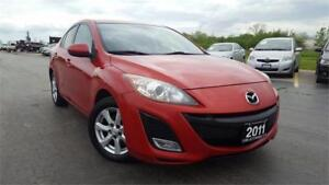 2011 Mazda Mazda3 GS,Certified,Auto, AUXILIARY, Accident Free