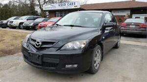 2009 Mazda Mazda3 GX Well Serviced FINANCE AVAILABLE