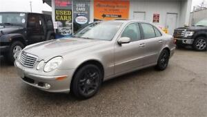 2004 Mercedes-Benz E-Class 3.2L - Leather, Sunroof, Loaded