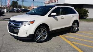 2011 FORD EDGE LIMITED AWD WHITE ON BLACK FULLY LOADED