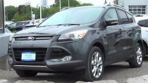 2015 Ford Escape Titanium 4WD|Sunroof|Leather|Navi|Sony Audio