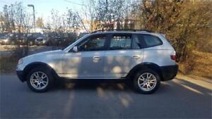 2005 BMW X3 2.5i PANORAMIC ROOF LOADED CLEAN & CERTIFIED $5975