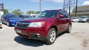 2010 Subaru Forester X Touring//Nav//Roof//Clean//1 Year Warrant