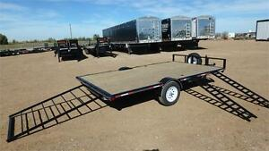 "2017 Double A, 102""x 14FT Quad / ATV / Sled Trailer (3500LB GVW)"