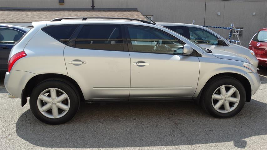 2005 Nissan Murano SL WITH SAFETY