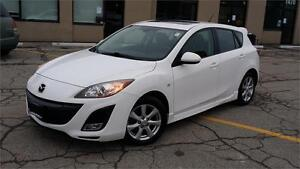 2010 MAZDA 3 SPORT HATCHBACK 6 SPEED MANUAL SUNROOF SAFETY ETEST