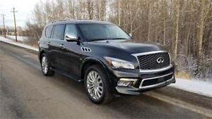 2016 INFINITI QX80 Technology package 7 Passenger