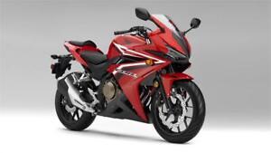 2016 HONDA CBR500RG NON-ABS - Red