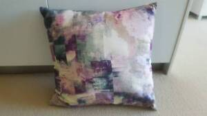 100% Cotton Cushion (x2) Multi Colour 43cm x 43cm (Plain on back) East Perth Perth City Area Preview