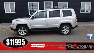 2011 JEEP PATRIOT NORTH - FWD - CRUISE - MOONROOF - 95000km