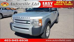 2007 LAND ROVER LR3 SE 4X4 LEATHER V8