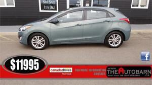 2013 HYUNDAI ELANTRA GT 0 6 Speed, cruise, bluetooth, moonroof