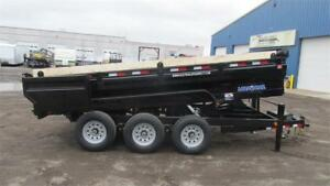 "2018 KING SIZE DUMPBOX 16FT TRIPLE AXLE (21,000LBS GVW) 97"" X 16"