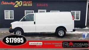 2015 CHEVROLET EXPRESS 2500 - CARGO VAN, WORK VAN, GMC SAVANA