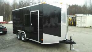 ** NEW 8,5X16 ENCLOSED TRAILER 5200lbs axle