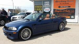 2004 BMW 3 Series M3 Convertible - SMG, Certified with Warranty
