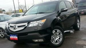2009 Acura MDX / 7 PASSENGER / LEATHER / S-ROOF / AWD