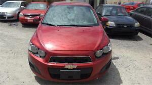 2012 CHEVROLET SONIC AUTOMATIC A/C SAFETY WARRANTY AVAILABLE