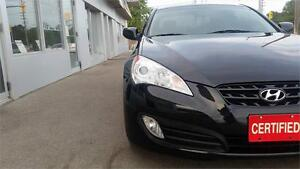 2011 Hyundai Genesis Coupe Manual 2.0T Leather Accident Free.