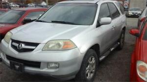 2004 Acura MDX w/Tech Pkg runs and drives as.is deal leather