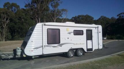 REDUCED PRICE to SELL FULCHER by Galaxy Southern Aurora Caravan