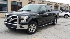 2015 FORD F-150 SuperCrew XTR JUST CAM OFF LEASE 4X4