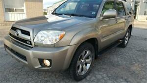 2007 Toyota 4Runner V8 LIMITED LOW KM FULLY LOADED VERY RELIABLE