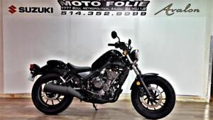 HONDA REBEL 500 ABS 2018 USAGÉ