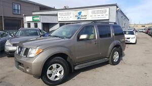 2007 Nissan Patfinder SE 7 PASS. P-MOON, STEP BOARDS